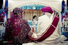 dulhan indian pakistani bollywood bride desi wedding dulha groom sikh punjabi Indian Suits, Indian Dresses, Indian Bollywood, Pakistani, Sikh Wedding, South Asian Wedding, Groom Outfit, Wedding Designs, Bride Groom