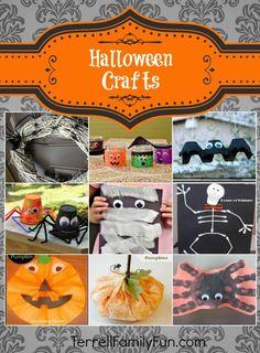 Halloween crafts for kids #halloween #crafts #diy