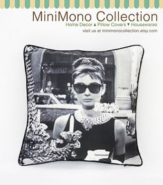 Audrey Hepburn Breakfast at Tiffany's Classic Pillow