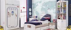Ιδεες παιδικό δωμάτιο με θέμα το αεροπλάνο