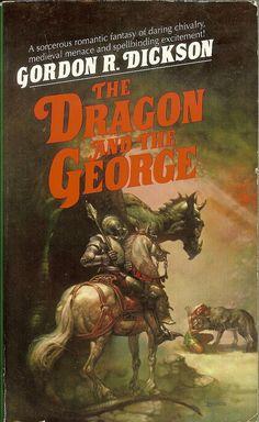The Dragon and the George - Gordon R. Dickson - cover artist Boris