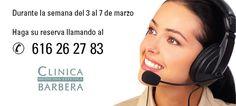 Nuevo teléfono para concertar sus citas en Clínica Médico Estética Barberá Public, Website, Medicine, Quotes