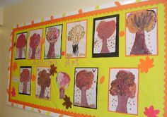 Autumn Art classroom display photo - Photo gallery - SparkleBox