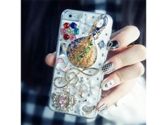 #3D #Lovely Lute + Crown iPhone 5/5S #Case