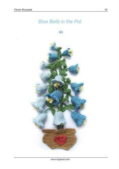 Luty Artes Crochet: flores de crochê.