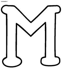 Disegni Alfabeto Stampatello Maiuscolo 1