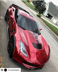 Corvette today- What a BEAST  !