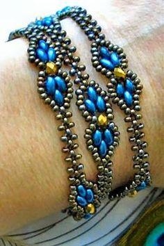 Linda's Crafty Inspirations: YouTube Beading Tutorial - Dream Empress Bracelet