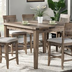 Found it at Wayfair - Hill 'n Dale Counter Height Dining Table