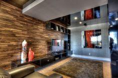 Panneau bois noyer 3D Lambris bois et decors