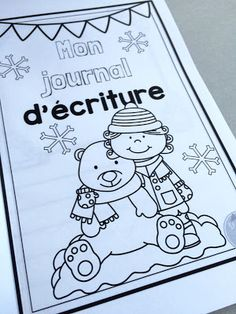 Ensemble d'activités d'écriture pour l'hiver!!! www.lecahierdepenelope.com French Teacher, Teaching French, Kids Learning Activities, Writing Activities, French Language Learning, Language Arts, French Education, French Classroom, French Immersion