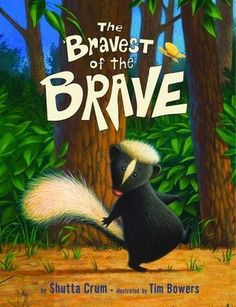 A Young Skunk heads home through the woods—alone. Or maybe not… Could there be robbers, or pirates, or ghosts, or trappers in the woods? And is our hero brave enough to keep away?  With bouncy rhymes, charming art, a subtle counting theme, and a surprise ending, this story will entertain and reassure any child who's ever been afraid.