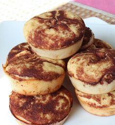 Zimt-Protein-Muffins