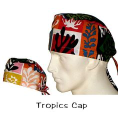 Surgical Caps Tropics