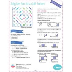 Looking for free quilt patterns and tutorials for beginners to inspire you and help you get started? Choose from hundreds of different free patterns from Fat Quarter Shop. Browse our most recent patterns today! Beginner Quilt Patterns Free, Quilting For Beginners, Quilt Block Patterns, Quilt Blocks, Quilting Projects, Quilting Designs, Quilting Ideas, Quilting Fabric, Layer Cake Quilts