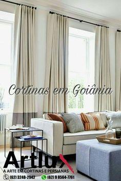 Cortinas em Goiânia  www.artluxcortinas.com