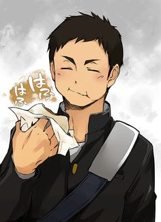 ~Sawamura Daichi~ Anime is actually a thing stripped away from The french language, that Daichi Sawamura, Daisuga, Haikyuu Karasuno, Haikyuu Ships, Haikyuu Fanart, Kagehina, Haikyuu Anime, Oikawa, Anime Guys