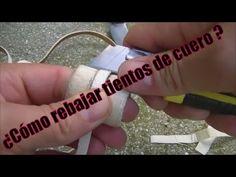 """¿Cómo rebajar tientos de cuero crudo? """"El Rincón del Soguero"""""""