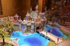 Disney Imagineering,   Sleeping Beauty Castle, Disneyland  Conceptual miniature model 1954