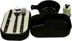 Red Rock Outdoor Gear Mess Kit (8-Piece) -- This is an Amazon Affiliate link. Check this awesome product by going to the link at the image.