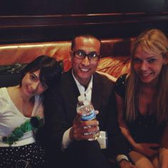 With KATE MICUCCI and RIKI LINDHOME at Comic-Con 2013.  Check out my movie blog: Rama's SCREEN at www.ramascreen.com and LIKE my Facebook page at facebook.com/ramascreen and follow me on twitter at @RamasScreen