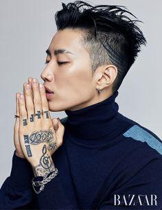Jay Park - Harper's Bazaar Magazine October Issue '17
