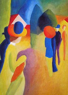 #August_Macke - Orphic influence is showing.