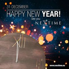 Happy New Year! See you NeXtime in See You, Happy New Year, Fun Stuff, Ads, Movie Posters, Fun Things, Film Poster, Happy New Year Wishes, Billboard