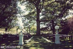 Nature wedding theme, classic outdoor wedding ceremony - Event Avenue