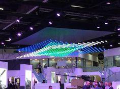 Orbis-FLY on IDEX 2015 Кинетическая светодиодная система Orbis-Fly, состоящая из 1000 кинетических элементов, была представлена на ежегодной выставке IDEX 2015, проходящей в г. Абу-Даби в Объединенных Арабских Эмиратах / Kinetic light system Orbis-Fly, consisting of 1 000 kinetic elements, was presented at the annual exhibition IDEX 2015, held in Abu Dhabi in the United Arab Emirates