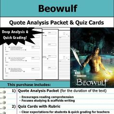 an analysis of the poem beowulf translated by burton raffel The first of a two-part series part 2 is located at i read most of the poem burton raffel reads lines 86-315 (chapters 1-4), 3.
