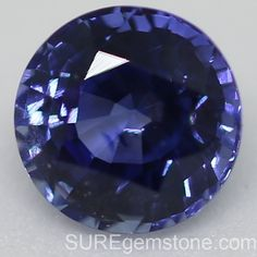 Deep Sky blue natural Madagascar round Sapphire 1.20ct. 5.98 X 6.02X 4.21mm Product code: BSMRRD0001