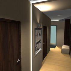 #interiordesign#corridor#modern# Corridor, Bathroom Lighting, Interior Design, Mirror, Furniture, Home Decor, Bathroom Light Fittings, Nest Design, Bathroom Vanity Lighting