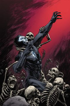 Shadowman: End Times #3 (of 3) regular cover by Lewis Larosa