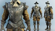 Conquistador armor and clothes