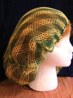 two-color sprang hair net