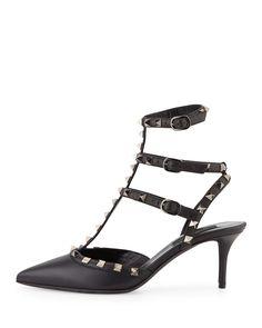Valentino - Noir Topuklu Ayakkabı