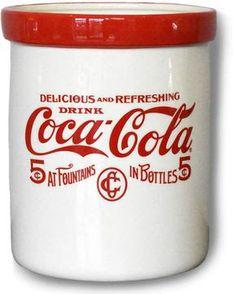 Love this Coca-Cola Tool Holder Decorative Jar on Coca Cola Decor, Coca Cola Drink, Cola Drinks, Coca Cola Ad, Always Coca Cola, World Of Coca Cola, Coca Cola Bottles, Vintage Coca Cola, Coca Cola Kitchen