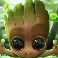 Is this Baby Groot, the baby Baby Groot? He is so adorable 😍 ctto Cute Disney Drawings, Cute Animal Drawings, Kawaii Drawings, Cute Drawings, Disney Princess Drawings, Disney Phone Wallpaper, Cartoon Wallpaper Iphone, Cute Cartoon Wallpapers, Baby Wallpaper