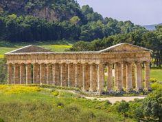 Temple of Demeter, Segesta, Sicily, Italy