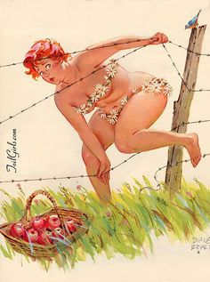 Meet Hilda, The America's Forgotten Pin-Up Girl.  Basically my soul sister!