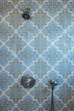 Strongly influenced by Moorish and Spanish design, the Isabella Mural by StoneImpressions beautifully depicts the feelings and influences of Mediterranean designs. Spanish Design, Mediterranean Design, Moorish, Tile Patterns, Stone, Bathroom, Washroom, Rock, Rocks