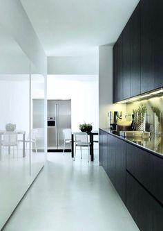 SLIM Kitchen Designed For Elmar Cucine Palomba Design - Contemporary kitchen with modular work island el_01 by elmar