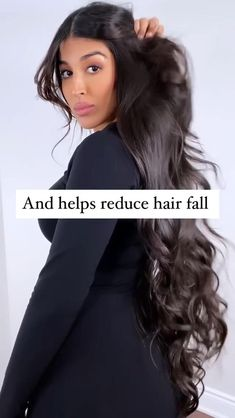 Diy Hair Treatment, Homemade Hair Treatments, Natural Hair Treatments, Natural Hair Care, Natural Hair Styles, Hair Growing Tips, Hair Mask For Growth, Hair Up Styles, Diy Hair Care