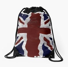 """The """"Union Flag"""" also known as the """"Union Jack"""" is the British Flag. The flag represents the unity of England, Wales, Scotland and Northern Ireland under one Sovereign. Gifts for the Proud Brit! • Also buy this artwork on bags, apparel, stickers, and more."""