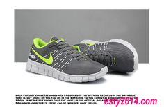 Nike Free Run 6.0 V2 Lovers Dark Grey Volt Running Shoes Summer 2014