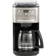 Cuisinart® Grind and Brew 12 Cup Coffee Maker in Coffee Makers | Crate and Barrel