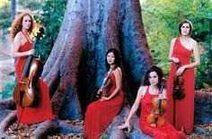 Cecilia String Quartet will play Chamberfest August 7, 2013  #Chambermusic #Chamberfest #Ottawa