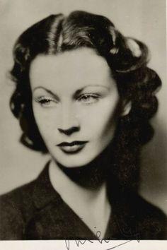Vivien Leigh - beautiful.