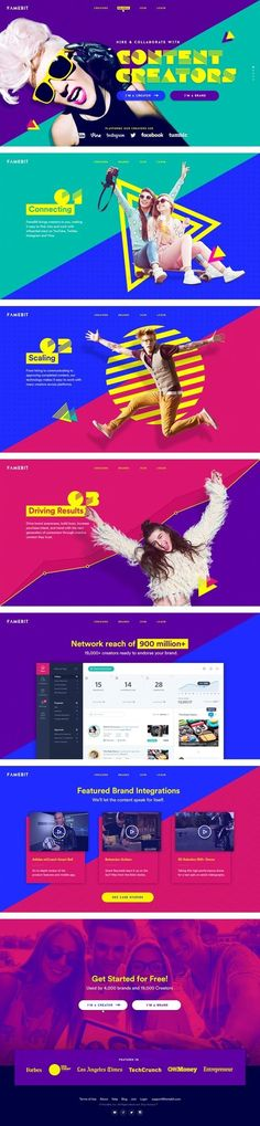 Landing Page and Motion Design - Landing Pages - Create a landing pages with drag and drop. Easily make your landing page in 3 minutes. - Landing Page and Motion Design Site Web Design, Gfx Design, Page Design, Web Inspiration, Graphic Design Inspiration, Web Layout, Layout Design, Motion Design, Mise En Page Web